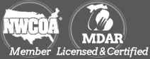 Creature Control is NWCOA & MDAR Member Licensed, Certified, & Insured